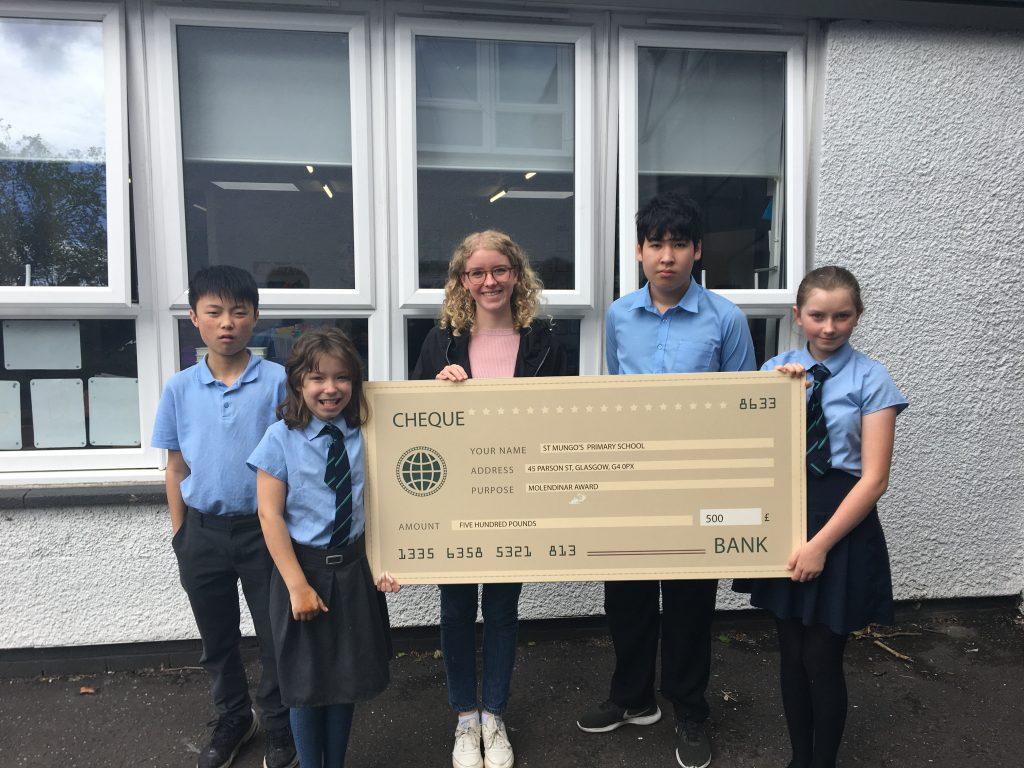 St Mungo Primary school - Molendinar Award 06_06_19